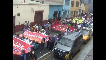 La Libertad: Profesores en huelga del Sutep cumplirán con una vigilia