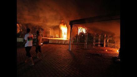 Reponsabilizan a seguidores de Gadafi de atentado a consulado de EEUU