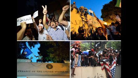 Embajada de EE.UU. en Egipto también fue atentada por manifestantes