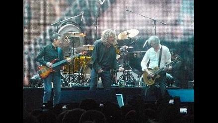 Led Zeppelin editará disco en vivo que los reunió en 2007