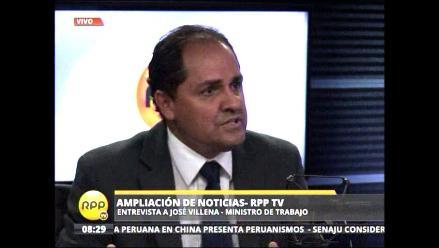 José Villena: La reorganización de EsSalud tiene que ser integral
