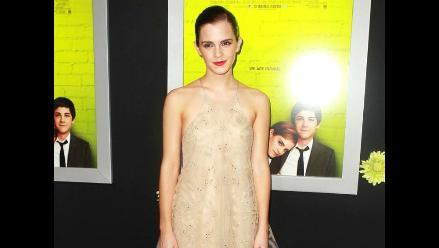 Emma Watson deslumbra en estreno de