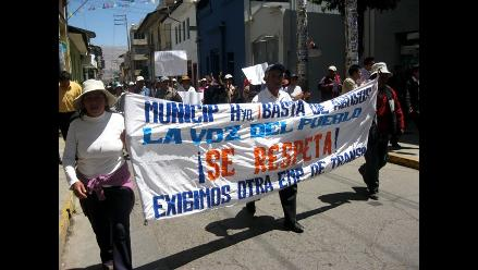Áncash: Denuncian amenazas por vacancia de alcalde de San Marcos