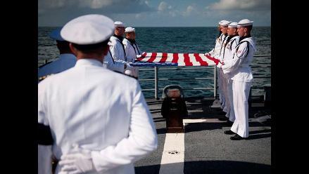 Cenizas de Neil Armstrong fueron lanzadas al mar de Océano Atlántico