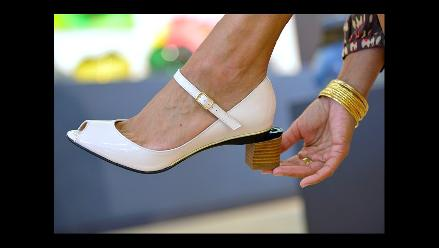 31b30784aff5b Tacones multi-altura  lo último del calzado femenino en Francia ...