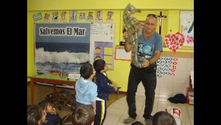 Pedro Cases contribuye a proteger nuestro mar y sus riquezas