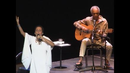 Gilberto Gil y Susana Baca: Dos culturas en un escenario