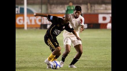 Incidencias del partido Cobresol vs. Universitario por la liguilla A