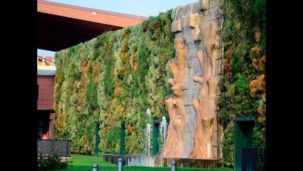 Jardín vertical en Italia es considerado el más grande del mundo