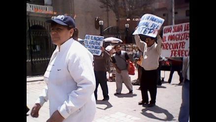 La Libertad: Docentes en huelga tomaron local de la UGEL de Otuzco
