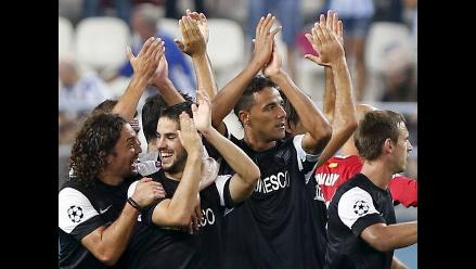 Málaga debutó en Champions League con goleada 3-0 al Zenit ruso