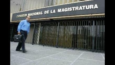 Consejo Nacional de la Magistratura sesiona en Tacna