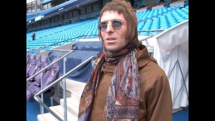 Liam Gallagher armó espectáculo en el Real Madrid vs. Manchester City