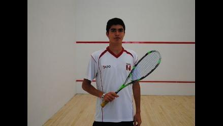 Peruano Diego Elías disputará final de Panamericano Juvenil de Squash