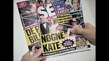 Revista danesa publica fotos de duquesa Catalina en topless