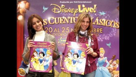 Bárbara Cayo y Maricielo Effio vuelven a soñar con Disney