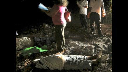 México: Hallan siete cuerpos desmembrados y calcinados