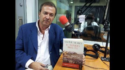 Javier Moro: ´Cada novela me ha significado tres años de mi vida´