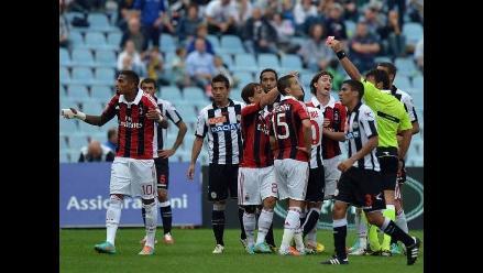 Milan e Inter perdieron sus encuentros en la cuarta fecha de la Serie A