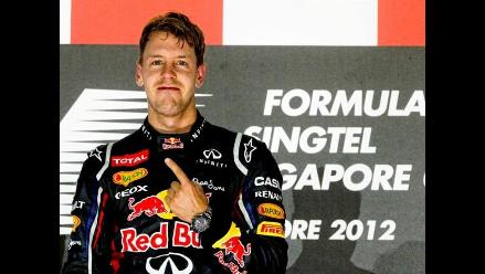 Sebastian Vettel insta a su escudería a mejorar pese a ganar en Singapur