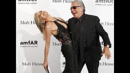 Sharon Stone hospitalizada en Italia