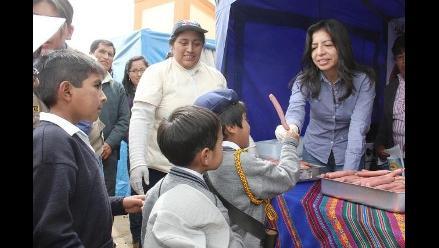 Junín: Impulsan consumo de salchichas de anchoveta en Quilcas y Sincos