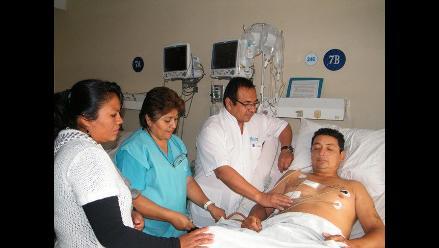 Chiclayo: Salvan a paciente al que incrustaron cuchillo en el corazón