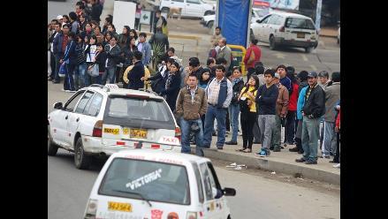 MML estima que paro fue acatado por un 20% de transportistas
