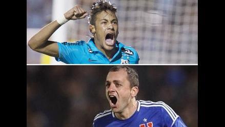 Santos y la U de Chile definen al campeón de la Recopa Sudamericana
