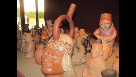 Piezas originales del Señor de Sipán regresaron a Lambayeque