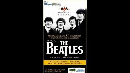 Tributo a The Beatles y John Lennon en el Peruano Japonés