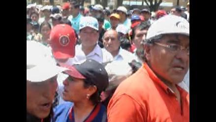 Piden garantías a Gobernación de Huánuco por docentes revoltosos