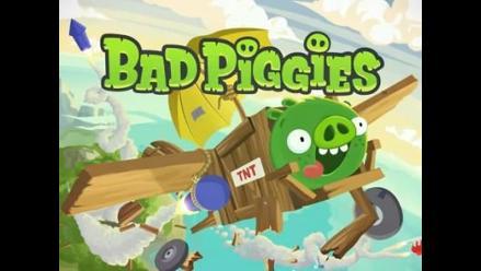 Rovio lanza Bad Piggies para emular el éxito de Angry Birds