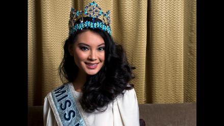 Miss Mundo 2012 lleva su belleza a Francia