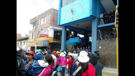 Huancayo: Detienen a exdirigente del Sute en toma de municipio El Tambo