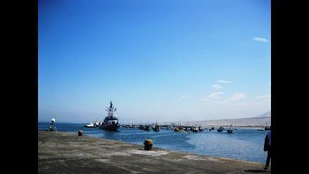 Trujillo: Reabren Puerto Salaverry tras dos dias de oleajes anómalos