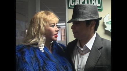 Susy Díaz molesta con Andy V por no acompañarla en su cumpleaños