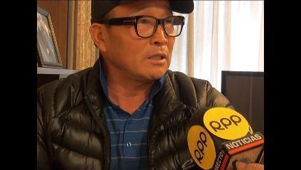 Pedro Kim se fue de Perú ratificando que no agredió a Gladys Tejeda