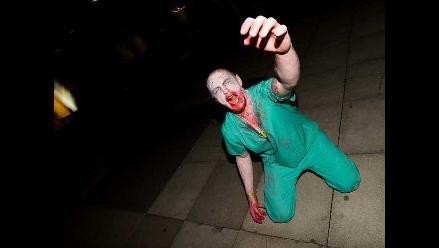 Juego zombie se apodera de la noche en el Reino Unido