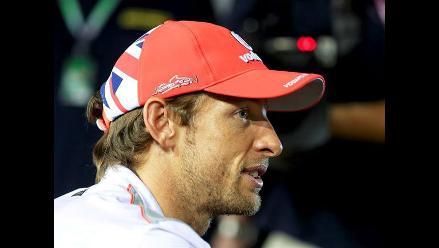 Jenson Button perderá cinco posiciones en la partida del GP de Japón