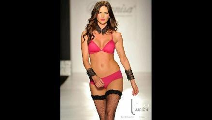 Espectaculares top models en el Leonisa Fashion Show 2012