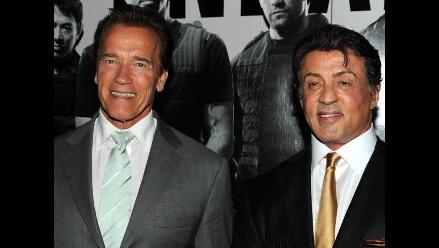 Arnold Schwarzenegger tuvo romance con ex de Sylvester Stallone