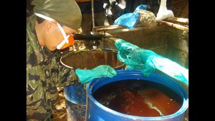 Huánuco: Destruyen tres laboratorios de pasta básica de cocaína