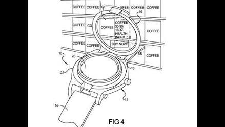 Google patenta tecnología para un reloj inteligente