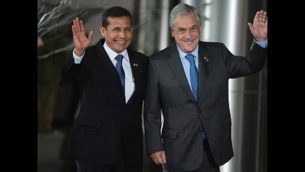 Humala y Piñera intercambian saludo cordial en Cumbre ASPA