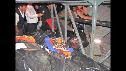 Chiclayo: Venezolana entre víctimas del bus siniestrado en Huarmaca
