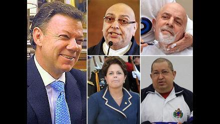 Juan Manuel Santos, el último de los presidentes con cáncer