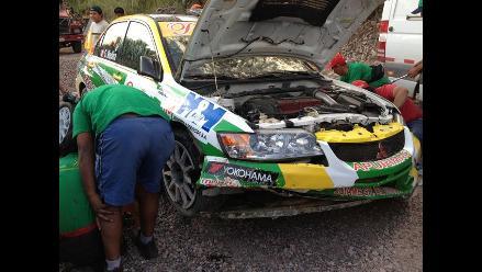 Richard Palomino sufre aparatoso accidente en Caminos del Inca