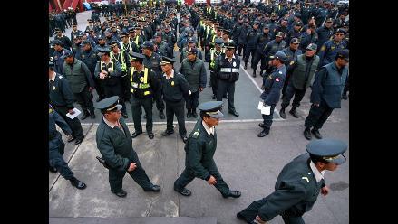 Pedraza: Aumentos a policías se conocerán en 30 días