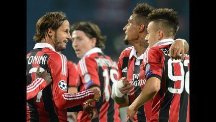 Milan venció 2-3 al Zenit por el Grupo C de la Champions League
